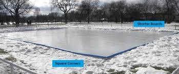 How To Build A Backyard Ice Rink by Backyard Hockey Rinks