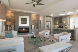 Open Concept Living Room by Manufactured Homes Living Areas Silvercrest Homes