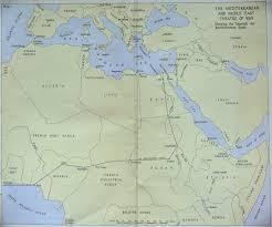 map middle east uk hyperwar the mediterranean middle east vol ii uk series