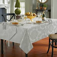 waterford linens whitmore silver sage tablecloth 70