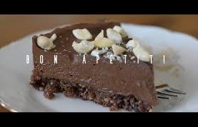 raw chocolate cake recipe youtube