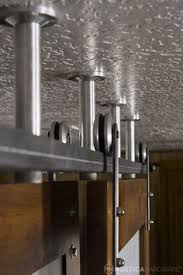 Barn Door Room Divider by Ceiling Mounted Barn Door Same Opening Type As Ours Wall On One