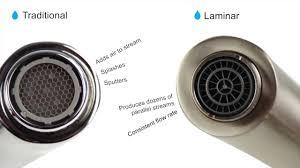 danze laminar flow aerator youtube