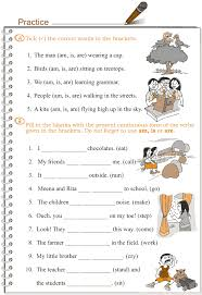 best ideas of past continuous tense worksheets for grade 3 about