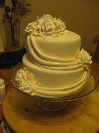 cake attempts draped wedding cake