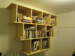 Corner Bookshelf Ideas Incredible Hang On Wall Bookshelf Danya B Corner Shelf Wall