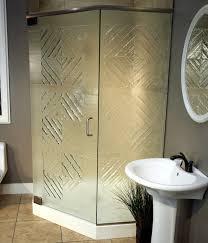 Glass Shower Door Options And Textured Glass Options For Shower Doors