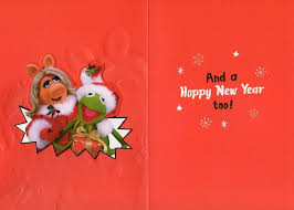 muppets cards lights card and decore