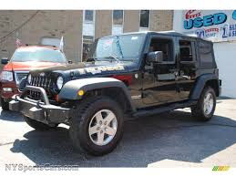jeep grey blue 2010 jeep wrangler unlimited islander edition 4x4 in black