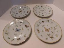 i godinger co rosebud 6 25 dessert plates set for 4 4531 ebay