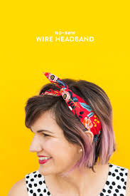 wire headband diy no sew wire headband hearts