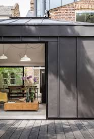 kirkwood home decor kirkwood mccarthy adds zinc clad garden wing to north london house