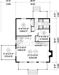Cabin Style Homes Floor Plans Cabin Style House Plan 4 Beds 1 00 Baths 1440 Sq Ft Plan 25 4291