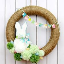 easter bunny wreath 75 best diy easter wreaths prudent pincher