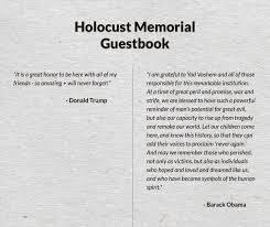 memorial guest book fact check did presidents obama and write wildly different
