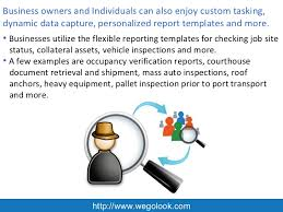 Field Inspection Report Template by Nationwide Commercial Onsite Field Inspection Services From Wegolook