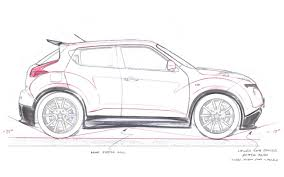 nissan 350z drawing baby godzilla nissan juke r revealed with gt r power with video