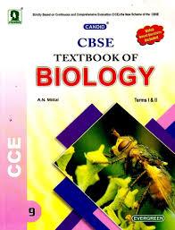 cbse a textbook of biology class ix term i u0026 ii 01 edition