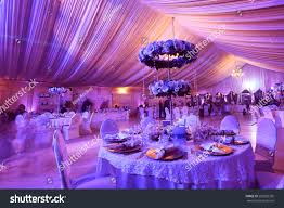 wedding flowers decoration wedding flowers decoration restaurant stock photo 252002350