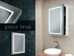 Lighted Bathroom Medicine Cabinets Led Mirror Medicine Cabinet Led Vertical Sides Illuminated Mirror