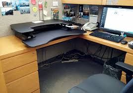 Cubicle Standing Desk Varidesk Pro Plus Standing Desk Review