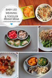 Quick Toddler Dinner Ideas Lovejoywonder Com Baby Led Weaning And Toddler Finger Food