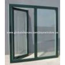 Awning Window Fly Screen China Aluminum Glass Double Sliding Window With Mosquito Net Fly