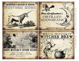 10 best images of halloween potion bottle labels halloween witch