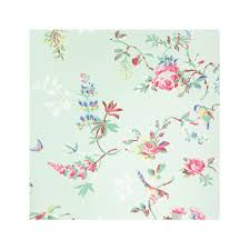 wallpaper with birds birds and roses wallpaper fabric and wallpaper cathkidston