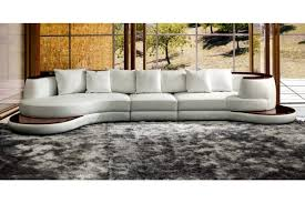 white leather sectional sofa with chaise living room black white italian leather sectional sofa in