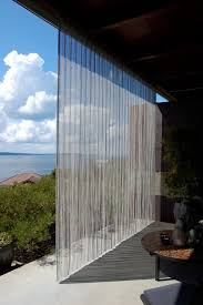 Patio Curtains Outdoor Outdoor Stainless Steel Curtain Industrial Patio Seattle