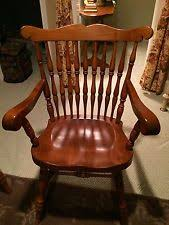 Maple Dining Chair Vintage Maple Furniture Ebay