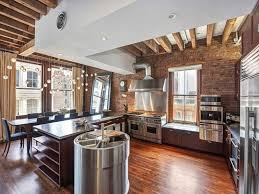 How To Decorate A Restaurant New York Loft Kitchen Design How To Decorate A Loft Loft Apartment