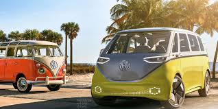 volkswagen electric car vw claims it will really make its electric vw bus concept shows