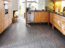 kitchen flooring shell tile best for leather look brown