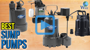 top 8 sump pumps of 2017 video review
