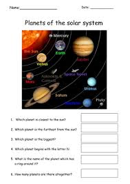 simple planets worksheet by tracey1981 teaching resources tes