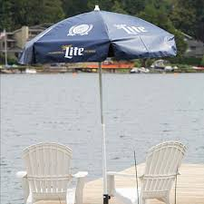Budweiser Patio Umbrella Miller Lite Patio Umbrella