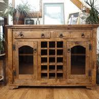 Wood Wine Cabinet Rustic Log Wine Racks And Holders