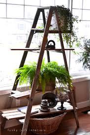 Diy Ladder Shelf Shelves Tutorials by