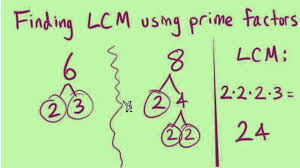 the least common multiple lcm part 1 of 2 youtube