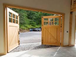35 build swinging garage doors door swing open