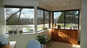 Solar Powered Window Blinds Interior Solar Screen Efficient Window Coverings