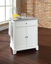 crosley kitchen islands crosley alexandria solid granite top portable kitchen island solid