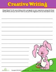 easter creative writing 4 creative writing writing and worksheets