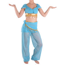 belly dancer costumes for halloween aliexpress com buy princess jasmine costume adults aladdin u0027s