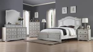 white king bedroom furniture set toulon antique white king bedroom set my furniture place