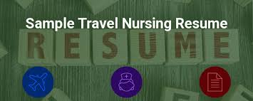 Sample Rn Nursing Resume by Sample Travel Nursing Resume Free Template Bluepipes Blog