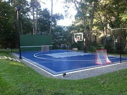 Backyard Basketball Court Boston Backyard Basketball Court Landscape Traditional With Ideas