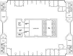 Floor Plan Of Office Building Evaluation Of Lighting Performance In Office Buildings With